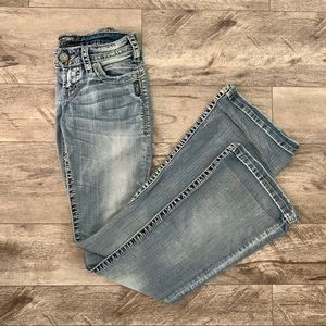 Silver Camden Rose Bell Jeans